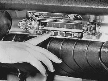 car radio dial