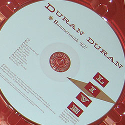 duran hammersmith dvd
