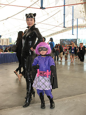 Catwoman and Hit Girl