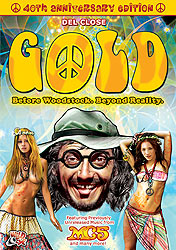 gold dvd art