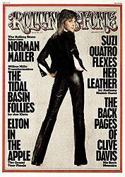 suzi quatro rolling stone 1975