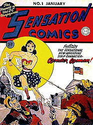wonder woman sensation comics