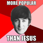 The Beatles vs. Jesus
