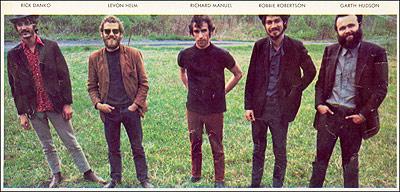 the band november 1968