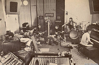 the band recording album by elliott landy