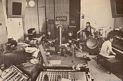 the band recording album by elliott landy