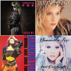 samantha fox reissues