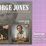 Music Review: George Jones, <em>Jones Country/You've Still Got A Place In My Heart</em> (Reissue)