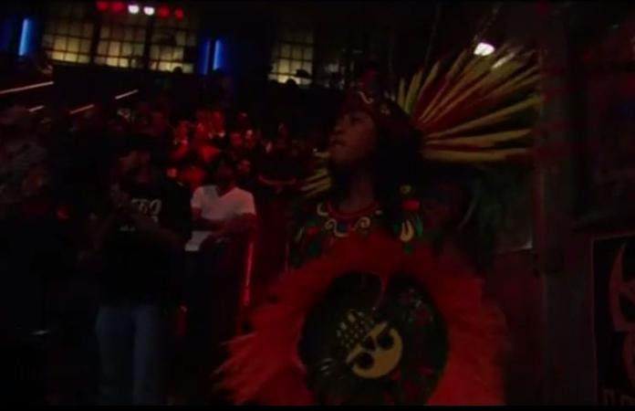 aztec dancing