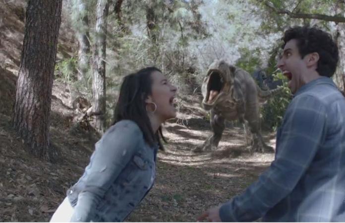 AHHH! Dinosaur!