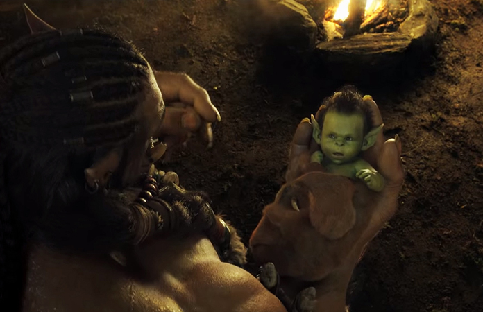 Baby Thrall and Durotan