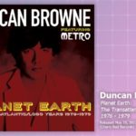 Music Review: Duncan Browne, Planet Earth: The Transatlantic/Logo Years 1976-1979