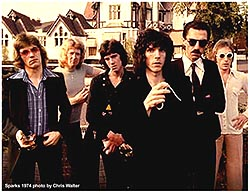 sparks 1974 by chris walter