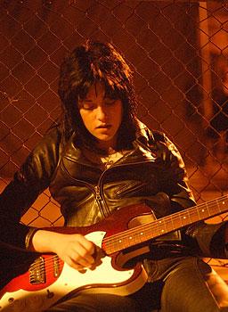 joan and guitar