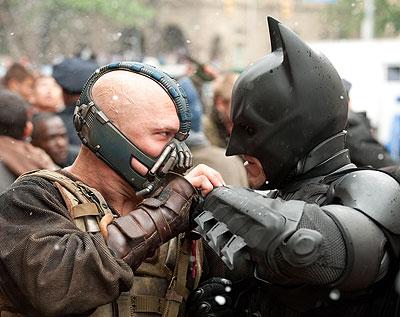 bane versus batman