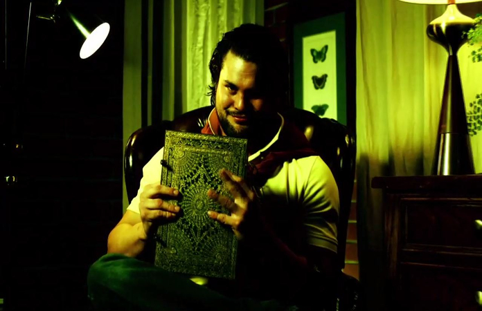 Marty the moth and his creepy book